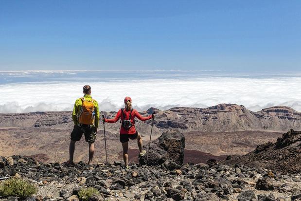 Jusqu'au sommet du Teide