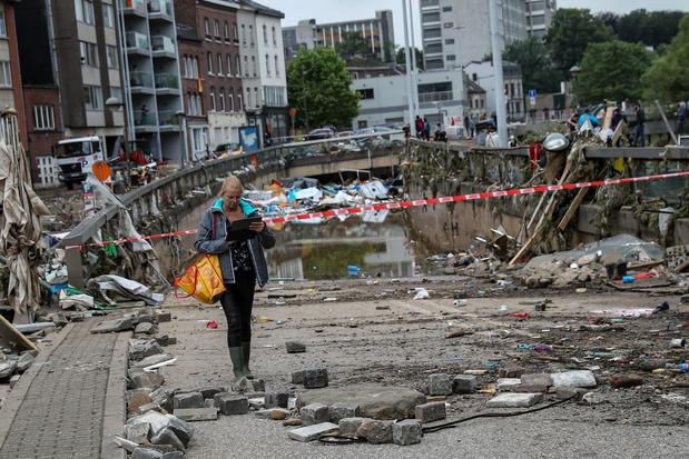 Noodweer: 20 doden en 20 vermisten in België - 20 juli dag van nationale rouw