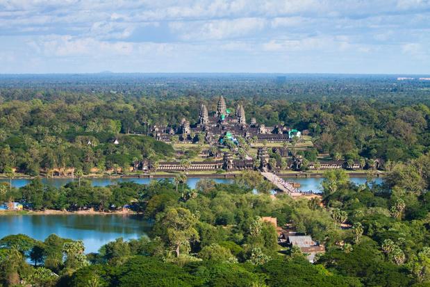 Veel verzet tegen themapark nabij historische site Angkor Wat in Cambodja