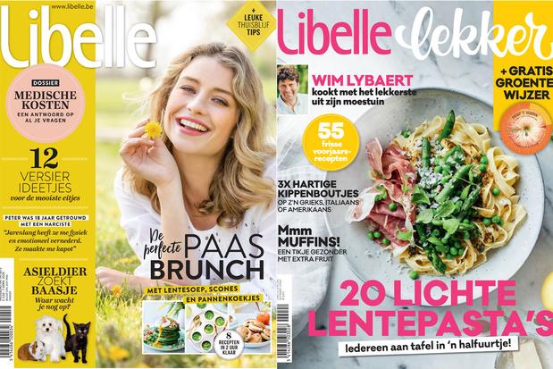 Libelle en Femmes d'Aujourd'hui zijn de stijgers onder de weekbladen