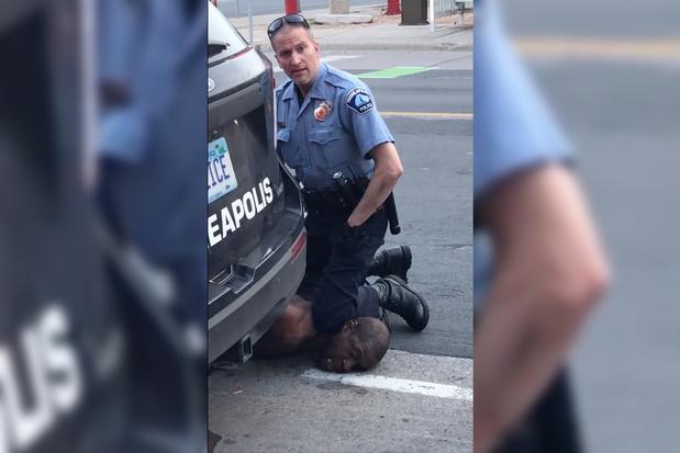 Politiegeweld Minneapolis: agent opgepakt die knie in nek van overleden George Floyd plaatste