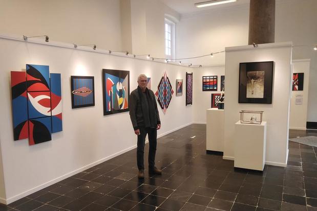 Familie Godderis vult Exporuimte Burg in Brugge met diverse soorten kunst