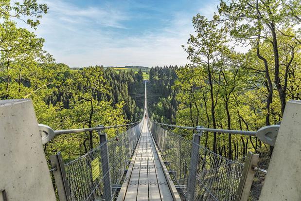 Un pont vertigineux en Allemagne
