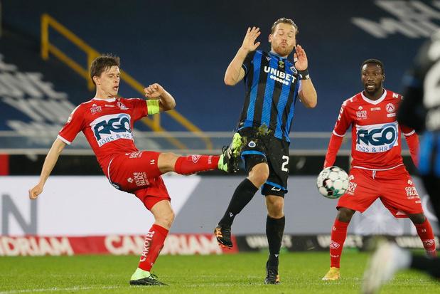 Matig Club Brugge wint met kleinste verschil van Kortrijk