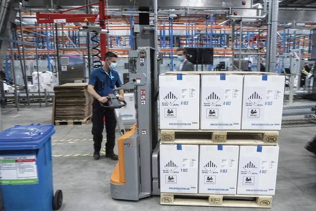 Les exportations belges dopées de quelques milliards par les vaccins Pfizer produits dans le pays