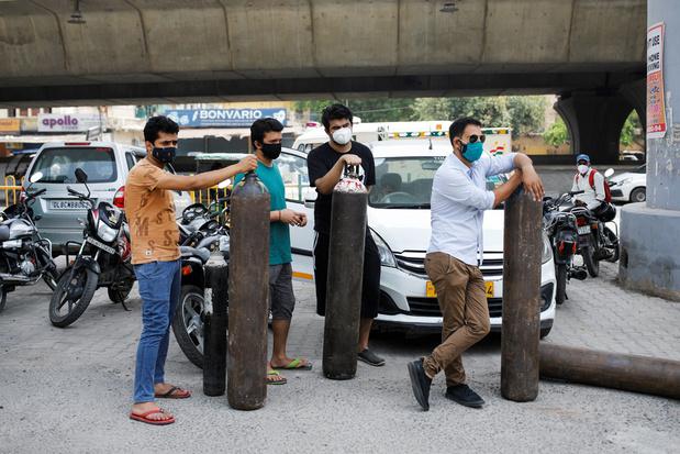 India: 10 keer de normale prijs voor zuurstof op de zwarte markt