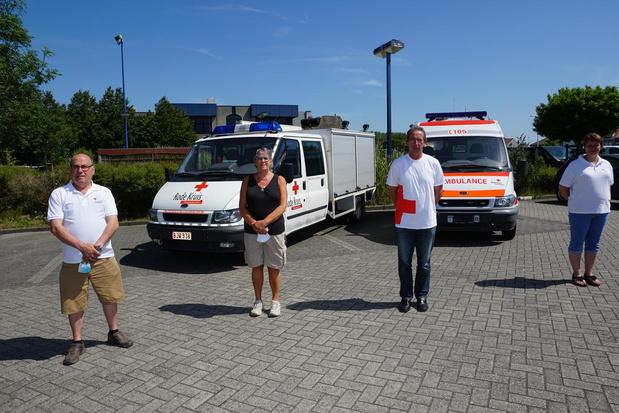 """Rode Kruis Bredene blijft niet bij de pakken zitten: """"We hopen op veel giften"""""""