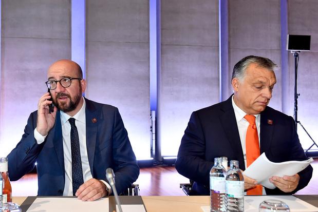 Automatische straf voor EU-dissidenten: zelfs België steunt Charles Michel niet