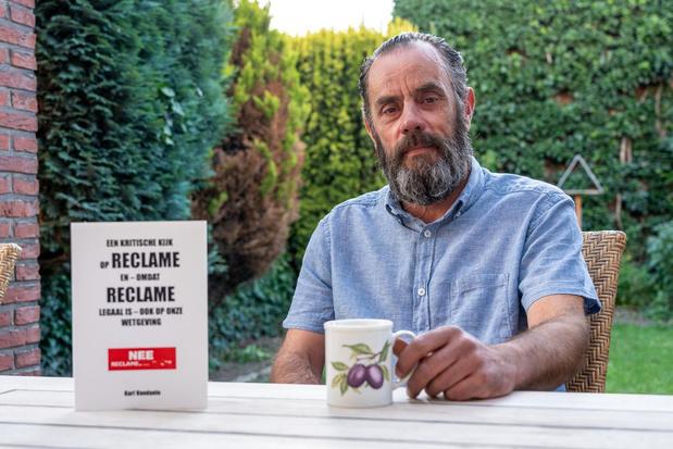 Gewezen copywriter Karl Vandaele zegt nu nee tegen reclame