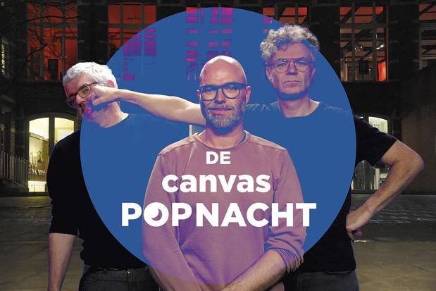De Canvas-popnacht