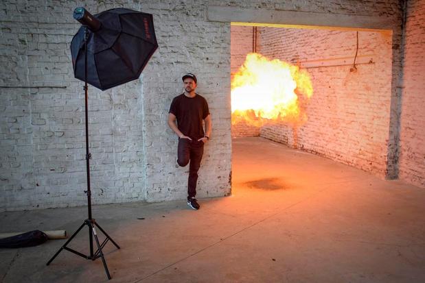 Jeffrey Jefferson van Ertebrekers in vuur en vlam voor de muziekindustrie