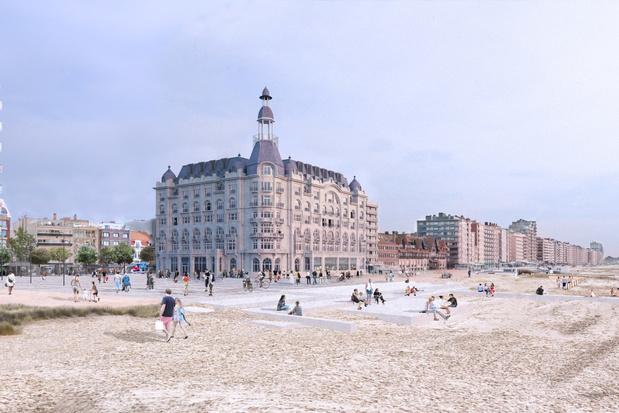 Belgische kust krijgt historisch kroonjuweel 'White Residence' terug