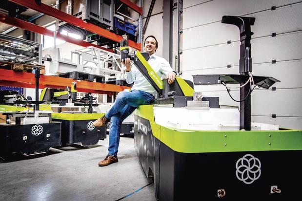 Vlaams-Brabantse Ambassadeur 'kleine bedrijven' Octinion: automatisch plukken