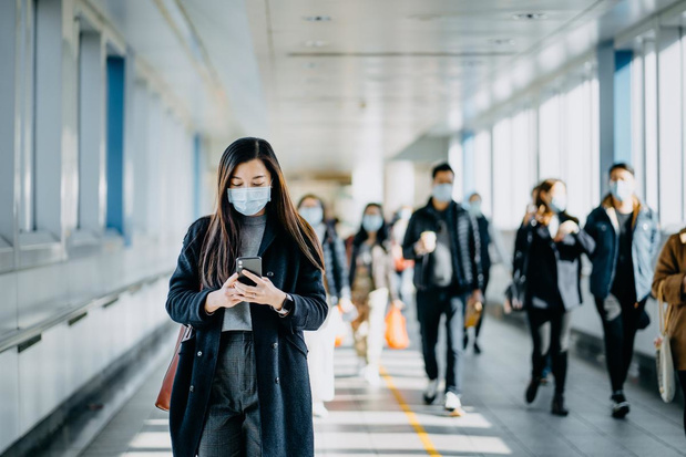 430 nouvelles contaminations en moyenne par jour, en baisse de 14%
