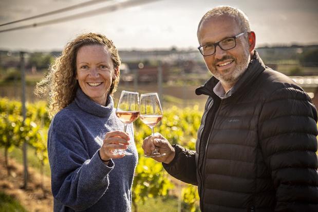 Eerste wijn te koop van wijngoed Mikken in Moorslede