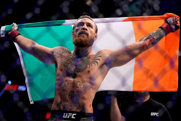 Conor McGregor wint comebackgevecht in slechts 40 seconden