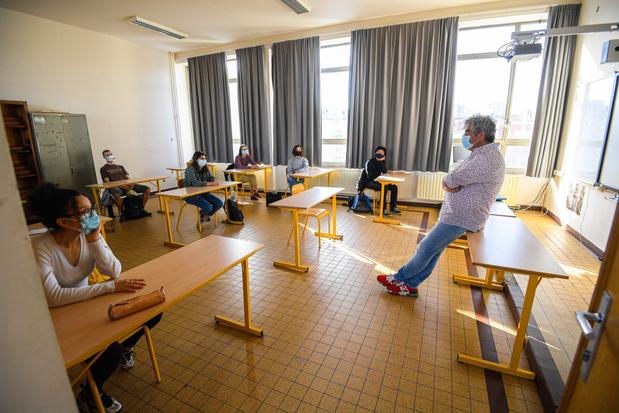 Onderwijsexpert Dirk Van Damme: 'Vlaamse scholen waren niet voorbereid'