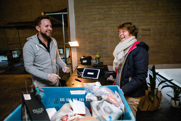 Eerste online Lokaalmarkt erg succesvol in Brugge