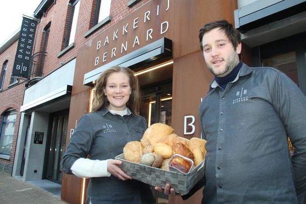 Drukke tijden voor warme bakkers Désiré en Lore van bakkerij Bernard in Geluwe