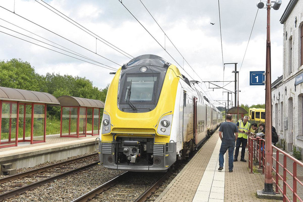 La SNCB augmentera de 4,7% le nombre de trajets en train d'ici 2023