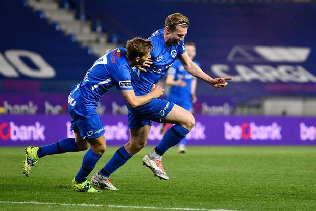 Genk blaast titelstrijd nieuw leven in met klinkende zege tegen Club Brugge