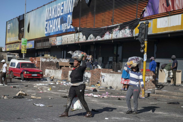 Al 72 doden in Zuid-Afrika na protesten tegen opsluiting oud-president Zuma