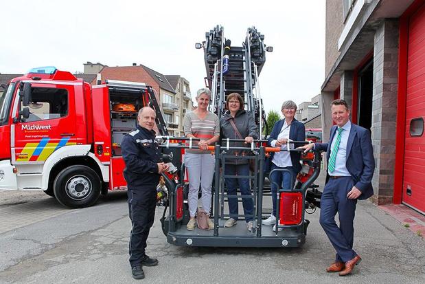Brandweerpost krijgt nieuwe ladderwagen van 700.000 euro