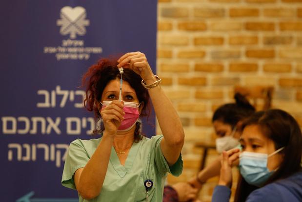 Israël op weg naar miljoenste vaccinatie