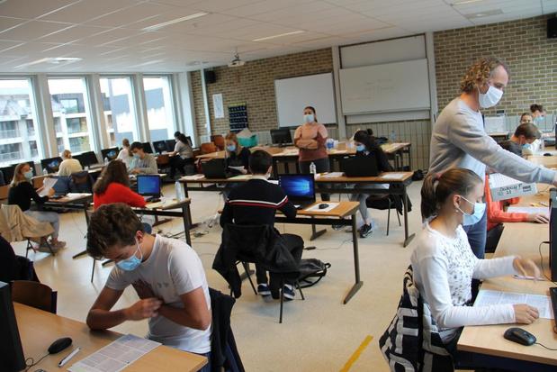 Toelatingsexamen voor artsen in Izegems College