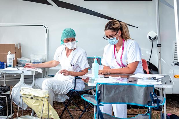 Couverture vaccinale dans les établissements de soins : les jeunes moins vaccinés