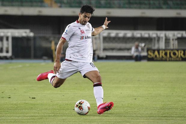 Giovanni Simeone - club : Cagliari