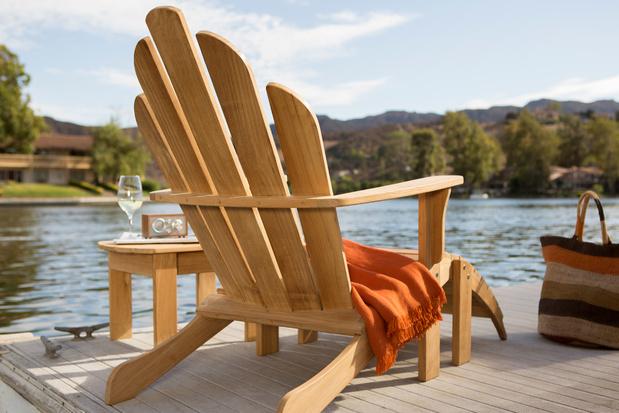 Lui achterover in de Adirondack Chair: dé Amerikaanse droomstoel bij uitstek