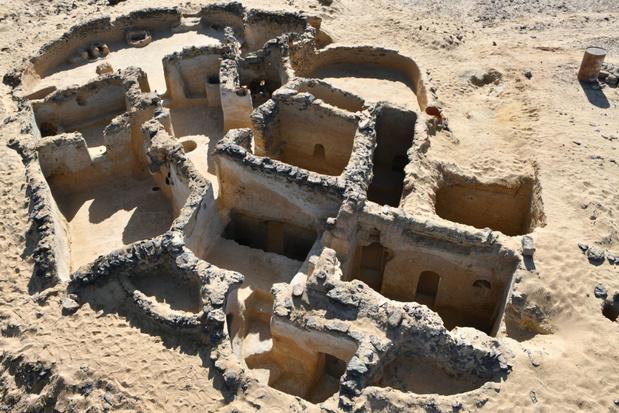 Christelijk klooster uit de vijfde eeuw ontdekt in de Egyptische woestijn