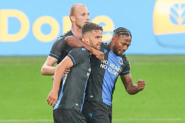 Club verslaat Knokke met 5-0 in oefenmatch