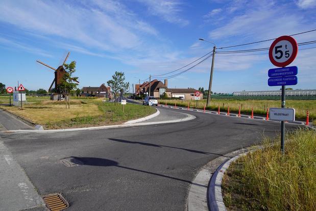 Veldstraat in Meulebeke opnieuw open voor alle verkeer