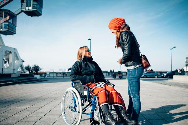 'Personen met een handicap worden als levende zonnepanelen behandeld'
