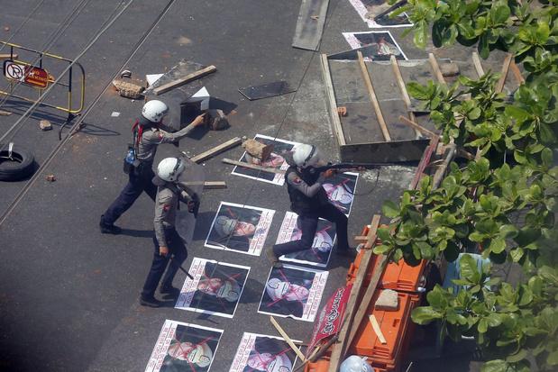 VN-Veiligheidsraad veroordeelt 'met klem' burgerdoden in Myanmar