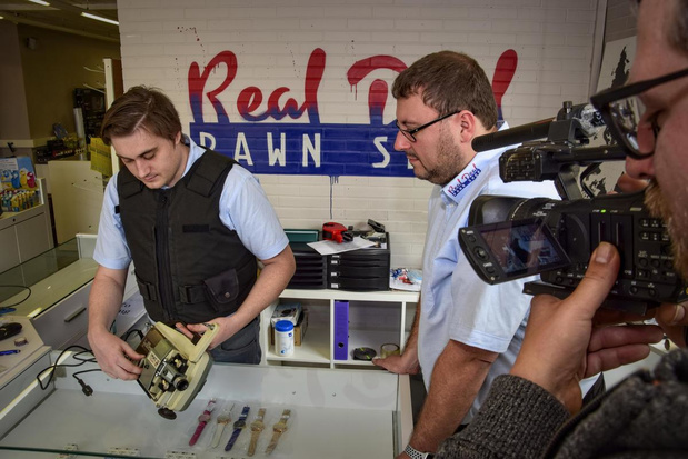 Hollywood in Wevelgem: Real Deal Pawn Shop krijgt tv-makers over de vloer
