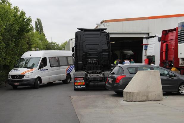 18 vrachtwagens van Litouws transportbedrijf in beslag genomen