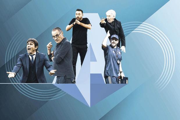 Conte, Sarri, Gasperini,...: ces hommes qui ont ramené l'Italie au sommet