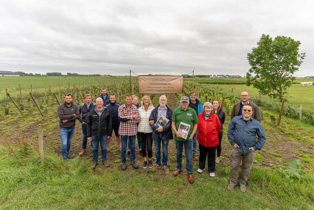 14 nieuwe wijnboeren starten opleiding bij Eddy Durnez