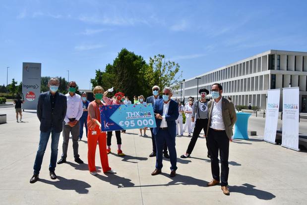 Zorgsector krijgt 96.800 euro aan waardebonnen van K in Kortrijk