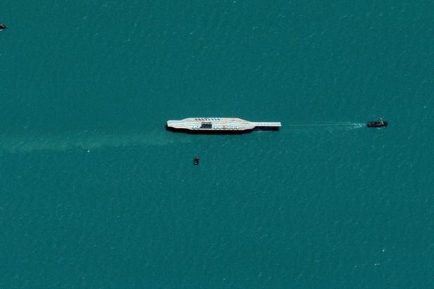 Iraans leger neemt in internationale wateren (even) een schip over