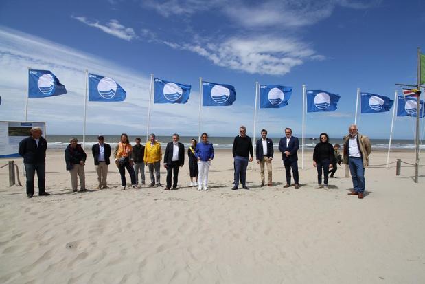 27 strandposten aan onze kust krijgen kwaliteitslabel Blauwe Vlag