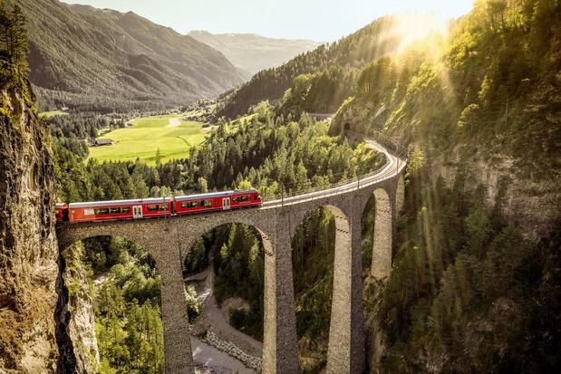 Klimaatvriendelijk reizen doorheen Zwitserland