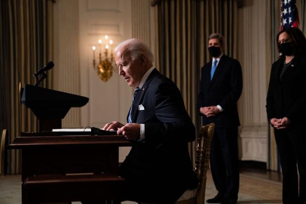 President Biden: VS moeten voortouw nemen bij aanpak klimaatverandering