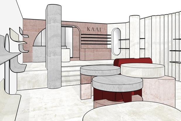 Belgische handtassenmerk Kaai opent vlaggenschip in Brussel