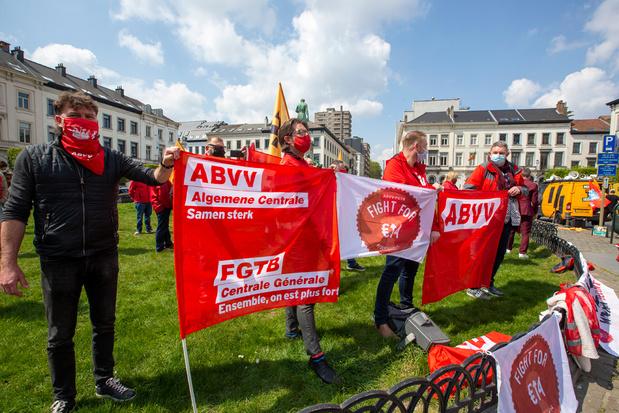 'ABVV keurde het sociaal akkoord goed. Tot opluchting van de federale regering en vooral van de PS'
