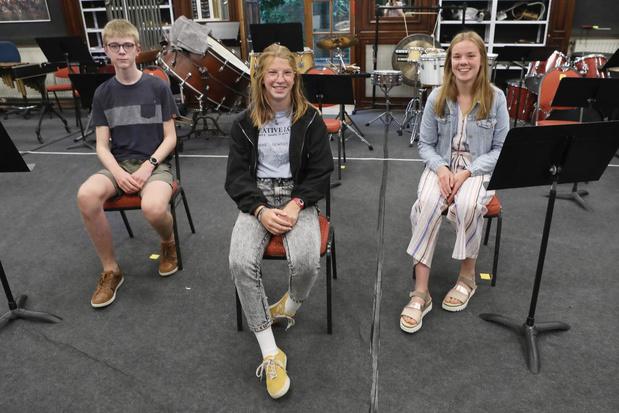 Drie nieuwe bestuursleden voor de Houtlandse jeugdorkesten
