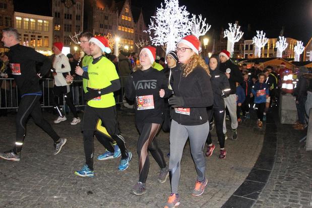 Organisatie Kerstloop in Brugge biedt een free run aan